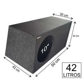 Caixa P/ Jl Audio 10w0-4 Duto Labirinto 42 Litros Mdf