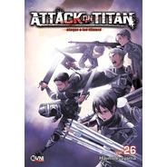 Manga, Kodansha, Attack On Titan Vol. 26 Ovni Press