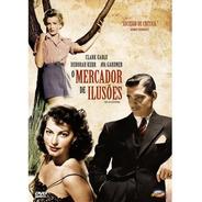 O Mercador De Ilusões - Dvd - Clark Gable - Deborah Kerr