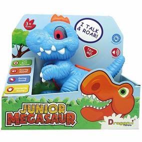 Dinosaurio Interactivo Luz Y Sonido Junior Megasaur