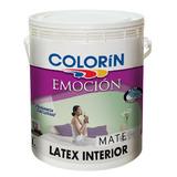 Látex Interior Emocion Blanco Mate Colorin X 4 Lts Imagen