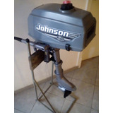 Motor Johnson 3.3 Hp. Ideal Pecadores,,, Impecable $ 13200