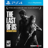 The Last Of Us Remastered Ps4 Juego Fisico - Phone Store