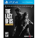 The Last Of Us Remastered Ps4 Fisico En Español Caja Carton