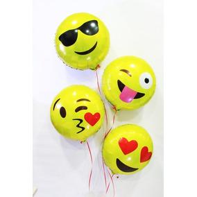 Balão Metalizado Emoji Zap 45cm Festa Decoração Frete Barato
