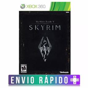 The Elder Scrolls V: Skyrim Xbox 360 Código 25 Dígitos