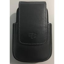 Protector Funda Clip Case Blackberry Negra Varios Modelos
