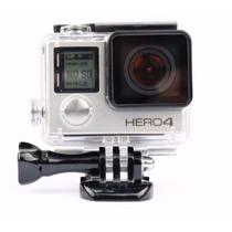 Gopro Estanque Caixa Go Pro Case Mergulho Hero 4 Silver