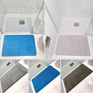 Tapete De Banheiro 50x80 Soft Absorvente Antiderrapante