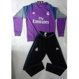 Conjunto Buzo Y Pantalon Real Madrid