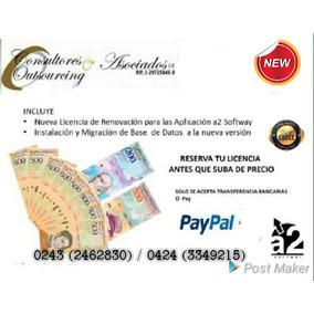 Reconversión Monetaria A2 Softway