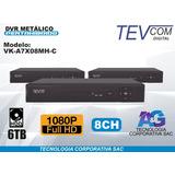 Dvr Tevcom Digital 1080p Full Hd 8 Canales