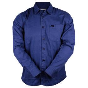 Camisa Rvca Service Dark Azul