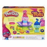 Play-doh Dreamworks Trolls - Salón De Peinados + Lata 3 Oz