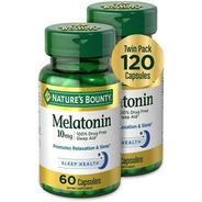 Melatonina 10 Mg | Descanso Profundo | Twin Pack 120 Caps