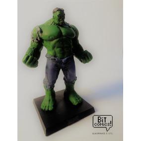 Miniaturas Marvel - Edição Especial- Hulk (verde)- Eaglemoss