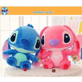Peluche Stitch Y Angel 35cm Lilo & Stitch Disney. Gigante