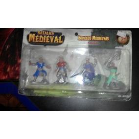 Boneco Miniatura Guerreiros Medievais Rpg