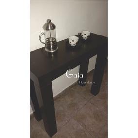 barra mesa desayunador laqueado madera moderno minimalista