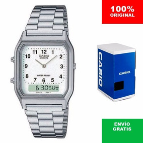 Reloj Caballero Casio Aq230 - Análogo Digital - Cfmx -