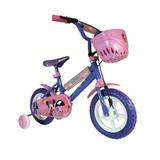 Bicicleta Disney Minnie. Rodado 12. Canasto.