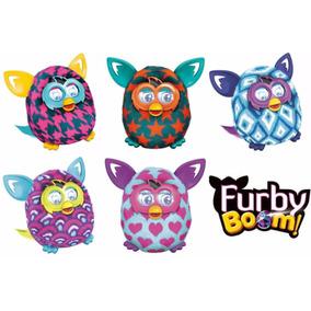Boneco Hasbro Furby Boom + 2 Carregador Sony + 8 Pilhas Sony