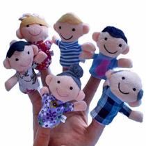 Fantoches De Dedo Familia Brinquedo Pedagogico Educativo