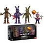 Set 4 Figuras Five Nights At Freddys Funko Vinyl Colección