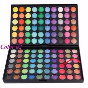 Promoção!! Maquiagem Profissional - Paleta Sombras 120 Cores
