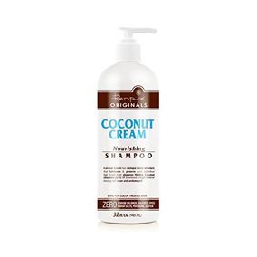 Renpure Crema De Coco Champú Nutritivo, De 32 Onzas
