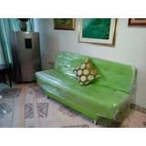 Sofa Cama Ecocuero Color Que Elija Con Envio Gratis Bogota.