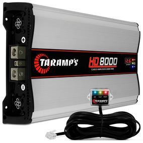 Modulo Taramps Hd 8000 8000w Rms Amplificador 1 Ou 2 Ohms
