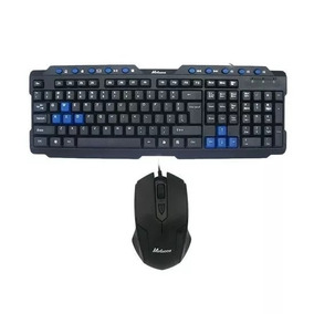 Kit Teclado Mouse Economico Gamer Usb Optico Nuevo Alambrico