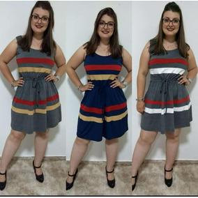 Vestido Feminino Regata Verão Plus Size Verão
