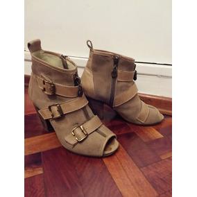 Botinetas Zapatos Mujer Blaque Talle 35,5