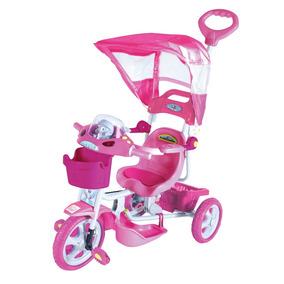 Triciclo Infantil 2x1 Capota Música / Envio Super Expresso