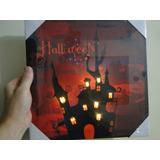Halloween !!!!! Casa Mal Assombrada Cintilam Luz Led 30x30cm