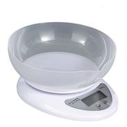 Balanza Digital De Cocina A Pilas Tara 1gr 5kg Bowl Ditron