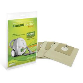 Kit Com 3 Sacos De Pó Para O Modelo Facilite Ou Fit Consul