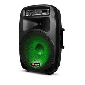 Caixa Amplificada Hsl-15a Bluetooth 400w