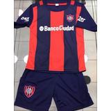 Nuevo Conjunto Camiseta Y Short San Lorenzo Niños