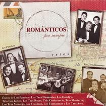 Cd Romanticos Por Siempre Trios