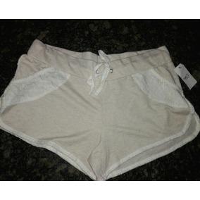 Shorts Para Damas Americano Talla M. Shores, Pantalón Corto