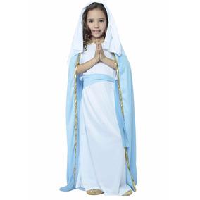 Disfraz,virgen Maria Para Niña