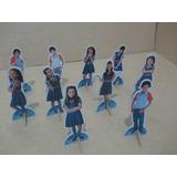 Kit 10 Display Chiquititas Decoração De Mesa Festas
