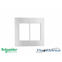 Espelho Para Tomada Branco 4x4 Schneider - Viaeletrica