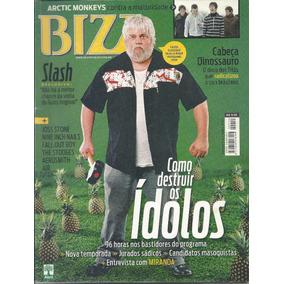 Revista Bizz 212-guns N Roses,( Slashe),titãs,cabeça Dinossa