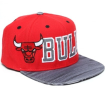 Gorra Adidas Flat Cap Chicago Bulls
