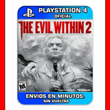 The Evil Within 2 Ps4 :: Digital :: Promocion |2|