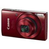 Cámara Digital Canon 20mp 10x Powershot Elph 190 Lcd 2.7 Roj